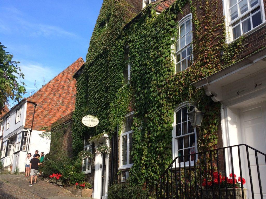 Rye UK with the small hotel Jaekes House