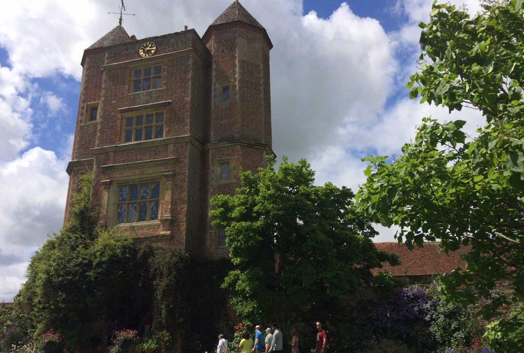 Sissinghurst Castle at Sissinghurst Castle Gardens which was created by Vita Sackville-West